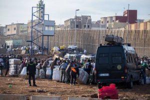 Otra porteadora muere aplastada al intentar entrar en Ceuta
