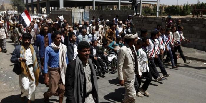 """Yemen, la """"protesta del pane"""" contro l'aggressione dell'Arabia Saudita"""