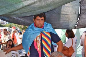 Detuvieron a la esposa de referente wichí Agustín Santillán