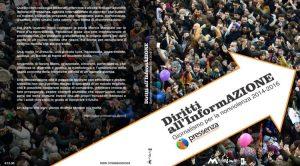 """Esce il libro di Pressenza, """"Diritti all'informazione"""""""