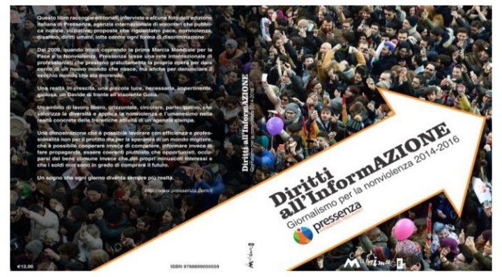 Al Sereno Regis di Torino il primo libro dell'Agenzia Internazionale per la Pace e la Nonviolenza
