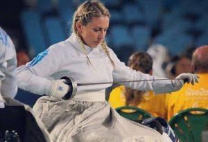 Πνεύμα σε κίνηση: η πρωταθλήτρια ξιφασκίας με αμαξίδιο, Κέλλυ Λουφάκη