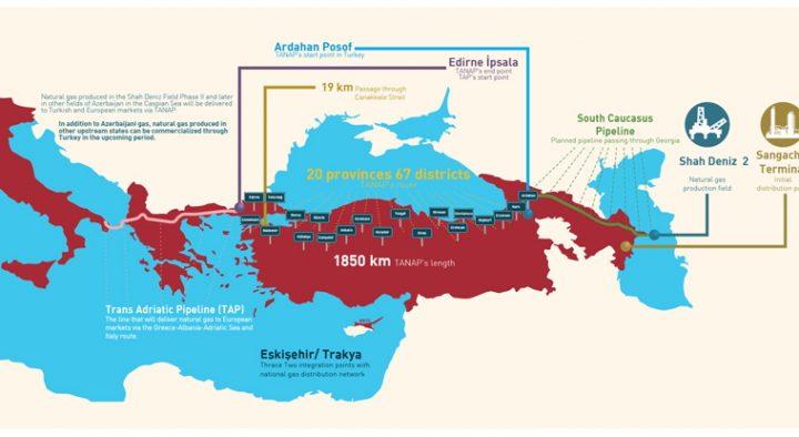 Risultati immagini per TAP percorso turchia