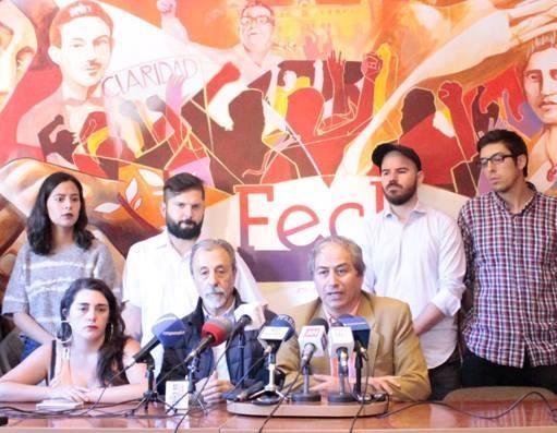 Sindicalista chileno manda mensagem aos professores brasileiros