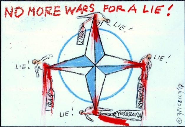 Risultati immagini per Guerre incombenti e notizie false