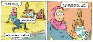 Un cómic y las aulas de un instituto para luchar contra la islamofobia