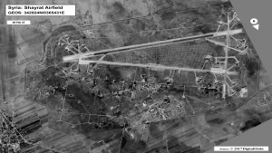 The U.S. attack on Syria's al-Shayrat Airfield