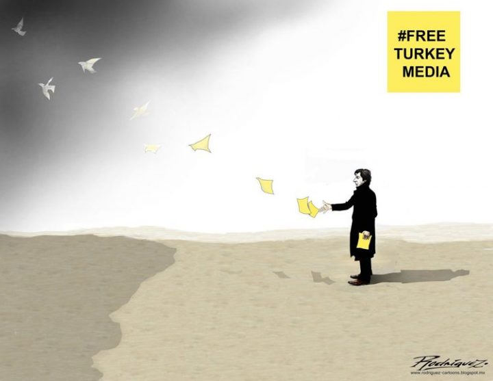 #FreeTurkeyMedia: Journalismus ist kein Verbrechen