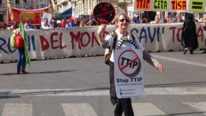 No all'approvazione del CETA, Stop TTIP Italia si mobilita per l'arrivo del presidente Trudeau