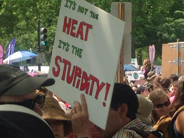 What I Said at the Peace Hub of the Climate March