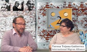 Teresa Gutierrez on Face 2 Face