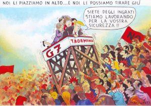 No al G7 di Taormina. Un altro mondo è necessario