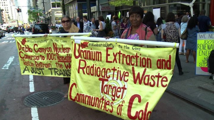 New York: Protesters Target Nuclear Power Bailout Plan