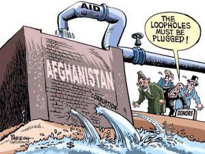 Gli stranieri hanno la maggior parte della responsabilità dell'aumento della corruzione in Afghanistan