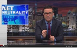 John Oliver leads Net Neutrality defenders to crash FCC website. Again.
