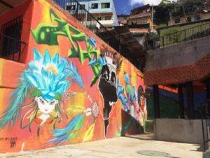 Colombia: En Medellín el arte es una respuesta contra la guerra