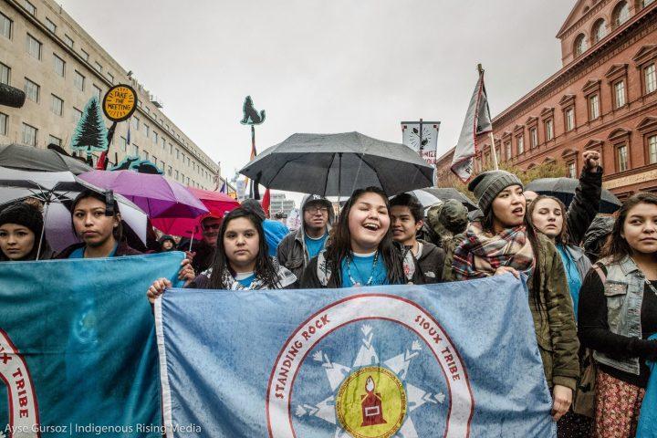 Giro europeo dei difensori indigeni di Standing Rock