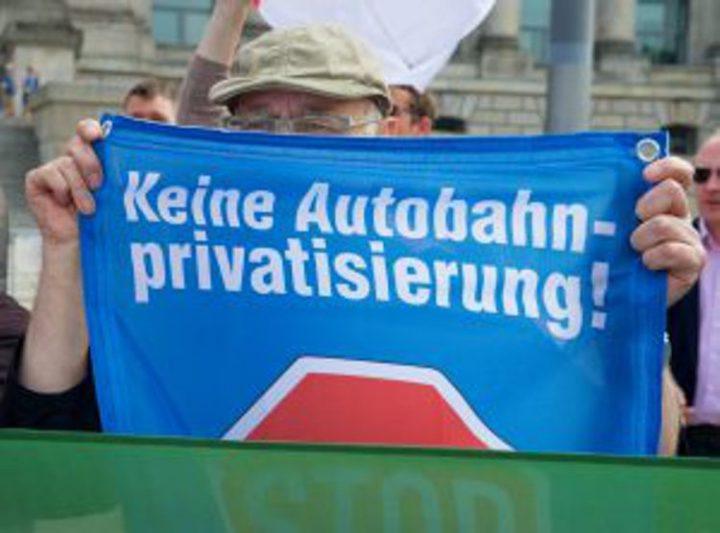 Autobahnprivatisierung: Koalitionsspitzen halten am Kern der Privatisierung fest