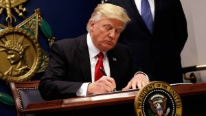 Appeals Court Hears Arguments over Trump's Second Muslim Travel Ban