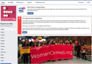 Access Denied: Facebook blocks abortion pill provider's page for 'promotion of drug use'