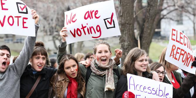 Young People: You Didn't Vote, And Now You Protest?
