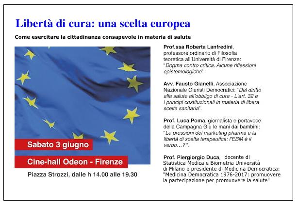 """Pressenza - Convegno """"Libertà di cura  una scelta europea"""" 52a69f5d214"""