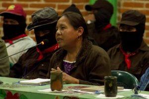 La candidata del Congresso Nazionale Indigeno per le presidenziali del 2018 in Messico