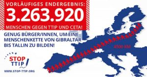EuG-Urteil: Ablehnung der Bürgerinitiative gegen TTIP und CETA war rechtswidrig