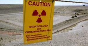 Quando crolla un tunnel radioattivo