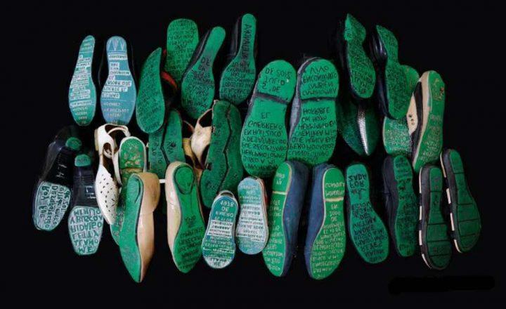 Huellas de la memoria: le scarpe di chi non si stanca di cercare i suoi desaparecidos