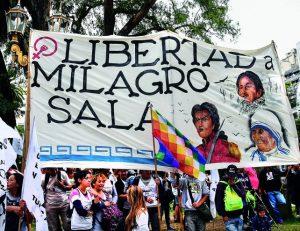 Comitato per la liberazione di Milagro Sala: martedì 6 giugno alla Camera dei Deputati