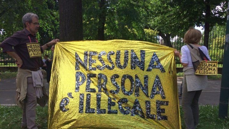 nessuna persona illegale