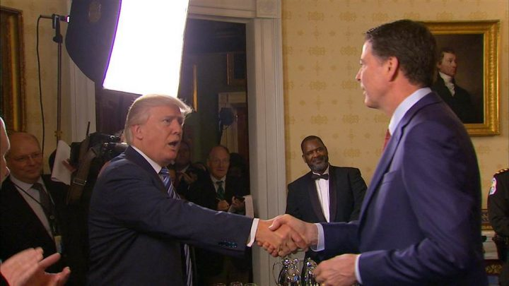 Mounting Contradictions As Trump, Aides Defend Firing of FBI Director