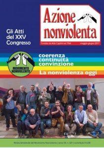 Azione Nonviolenta: numero monografico sul congresso