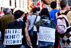 Difendiamo l'umanità non i confini: oggi a Roma