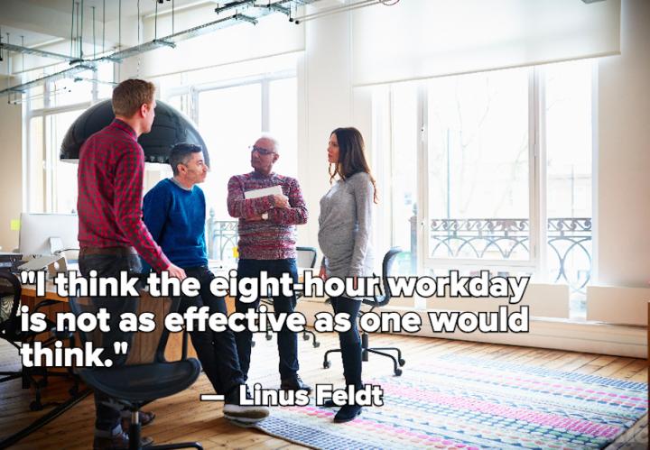 FILIMUNDUS: «το εργασιακό οχτάωρο δεν είναι τόσο αποδοτικό όσο νομίζουμε»