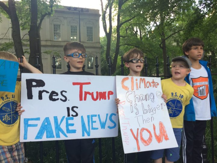 Exceptionalist Trump America Exits From Paris Agreement & Launches Neoliberal War on Terra