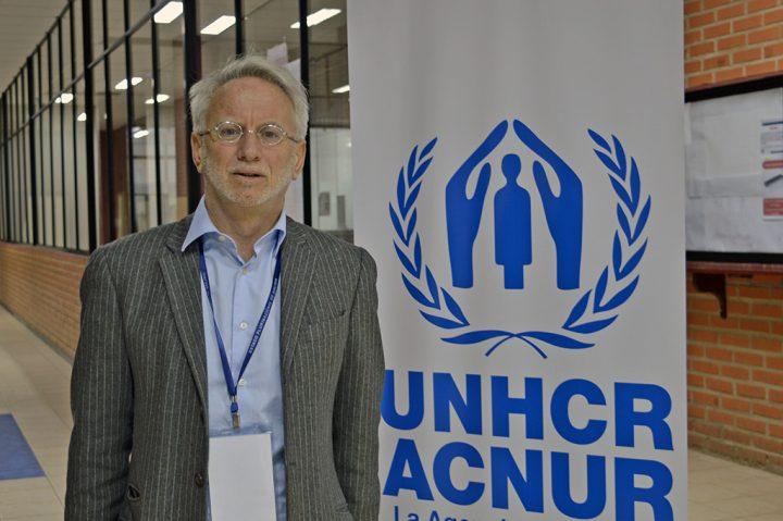 """Michele Manca di Nissa, representante regional de ACNUR: """"El problema no son los refugiados, sino las causas que los originan"""""""
