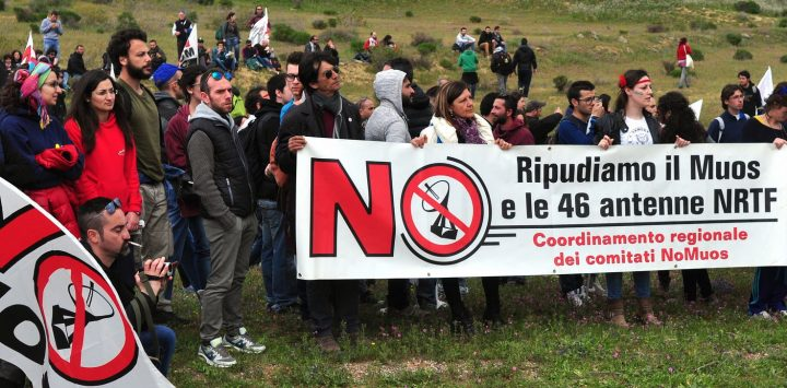 Appello per una manifestazione a Niscemi sabato 1 luglio