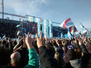 Cristina Fernández llamó a la unidad ciudadana para frenar a Macri