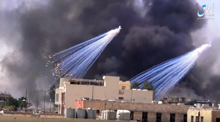 US-led coalition admits use of white phosphorus in Mosul amid mounting criticism