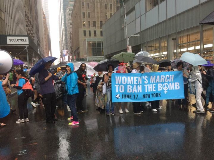 Women's March to Ban the Bomb in New York