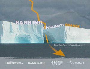 Anche Unicredit tra le banche che finanziano i cambiamenti climatici