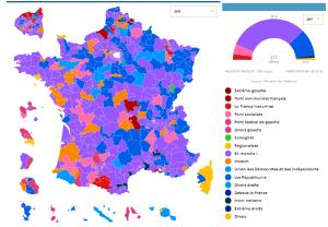 Μακρόν: απόλυτη πλειοψηφία στη Γαλλία με 60 % αποχή