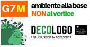 Società civile e G7: ambiente alla base, non al vertice