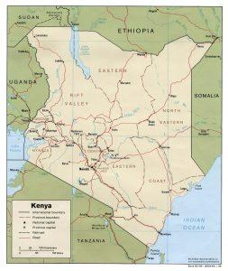 Kenia se arma hasta los dientes
