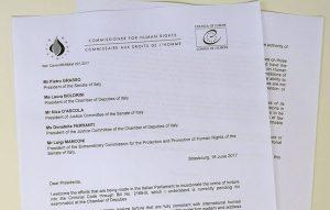 Tortura: il Commissario per i diritti umani del Consiglio d'Europa stronca la legge