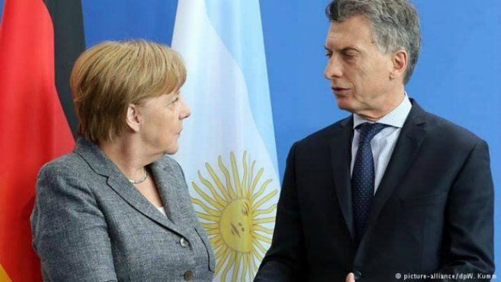 Merkel in Argentinien: Nationalkomitee für die Freiheit von Milagro Sala übergibt Dossier