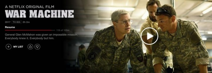 Brad Pitt Does Stanley McChrystal: When Netflix' War Movie