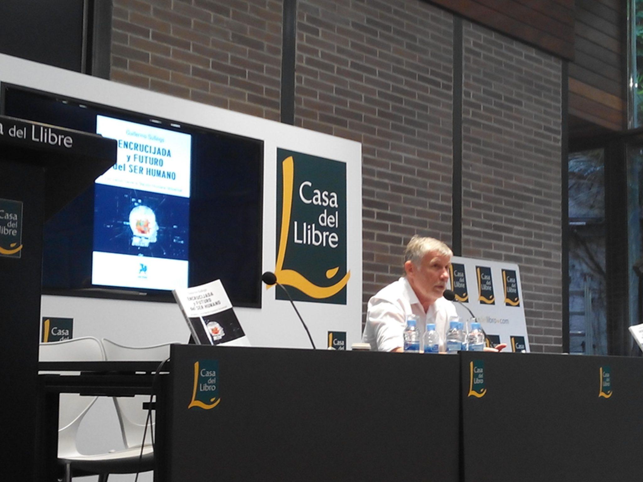 Pressenza guillermo sullings en la casa del libro de barcelona - Casa del libro barcelona rambla catalunya ...